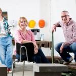 Bürogründer als feines Ensemble